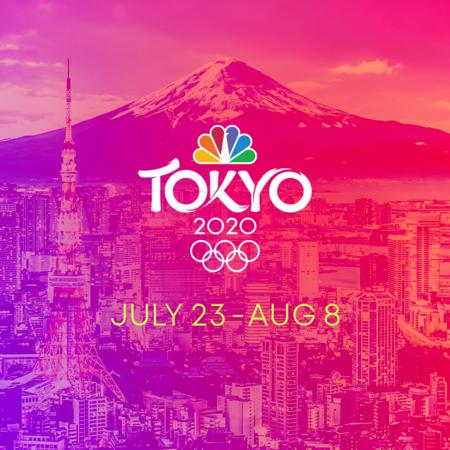 Tokyo Olympics logo NBC